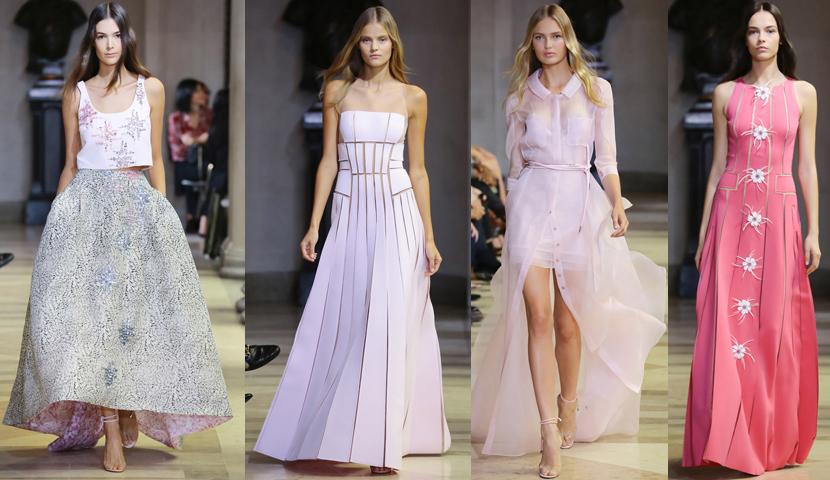 d0df02de392 Carolina Herrera sigue enamorando a su clientela más fiel y adicta a sus  diseños. Antes del desfile