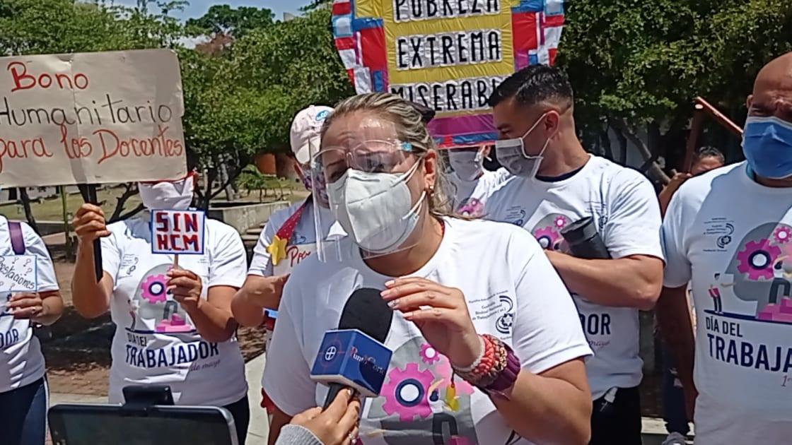 """Maestros denunciaron en la OEA las """"condiciones inhumanas"""" en las que se encuentran el sector"""
